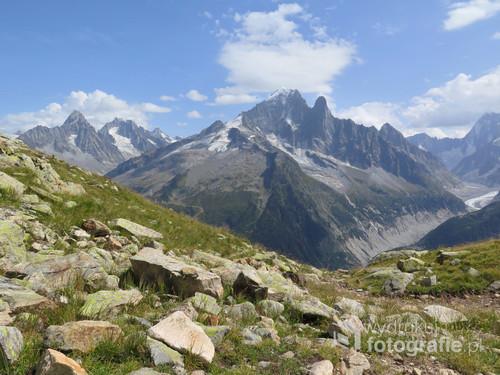Alpy francuskie, sierpień 2017.