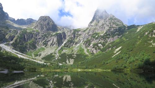 Zielony Staw Kieżmarski, Tatry Słowackie