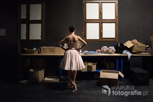 Przygotowania do premiery baletu