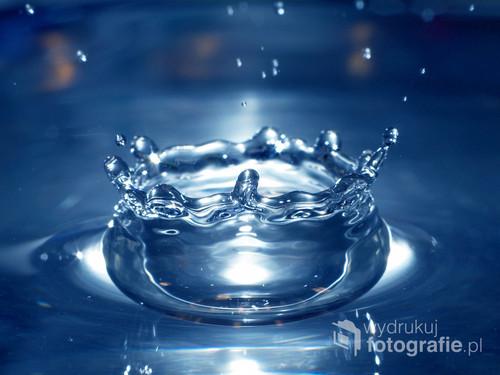Makrofotografia pozwala dostrzec piękno tego, co na co dzień jest niewidoczne. Kropla wody. Po prostu.