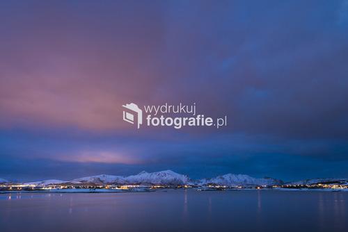 W poszukiwaniu północnego światła, wyspy Lofoty, Norwegia, 2016