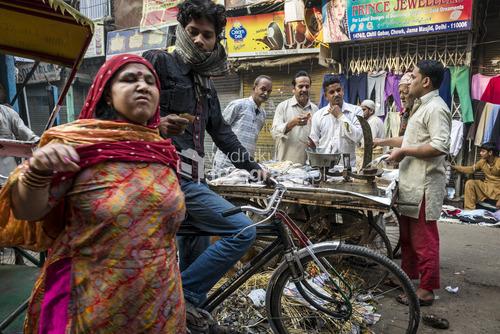Stare Delhi, Rajasthan, Indie