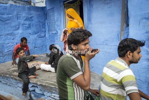 Blue city - Jodhpur, Rajasthan, Indie