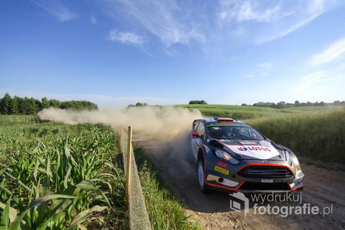 Robert Kubica / Maciej Szczepaniak Ford Fiesta WRC 72 Rajd Polski
