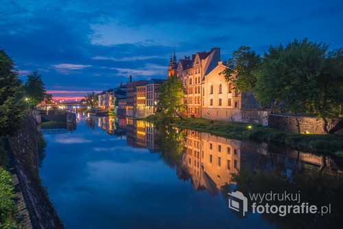 Opole nocą