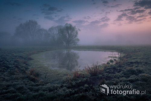 Mglisty poranek w dolinie Jeziorki