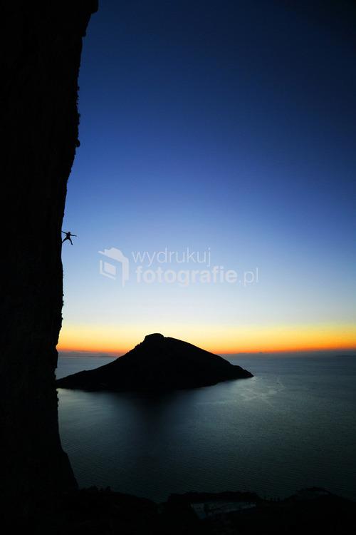 Wspinanie na wyspie Kalymnos, Grecja