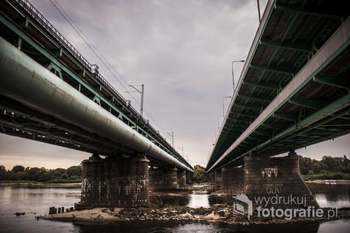 Architektura mostu gdańskiego w Warszawie w mojej odsłonie.