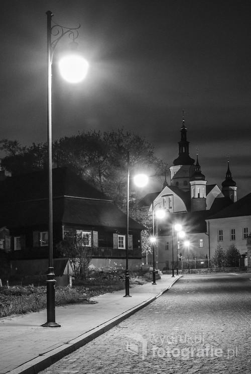 Ulica Konarskiego w Supraślu.