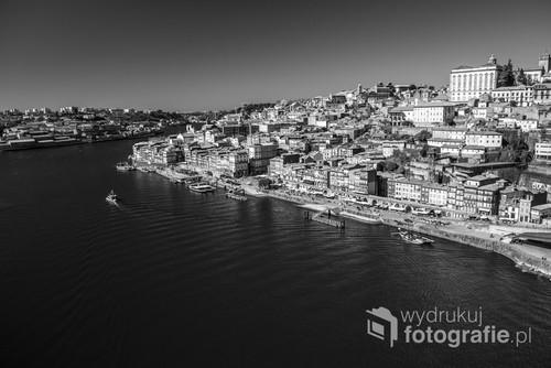 Porto Portugalia,technika cyfrowa.Black & white.