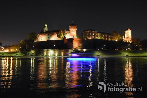 Wawel nocą.