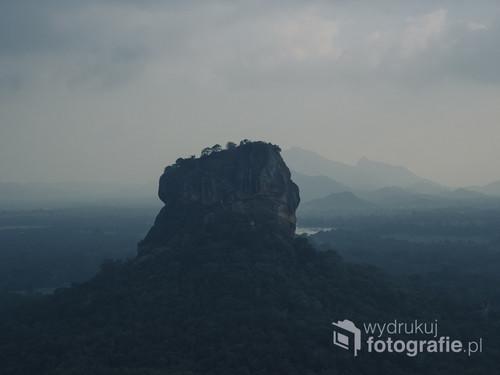 Sigiriya oraz olśniewający widok na Lwią Skałę ze szczytu Pidurangala