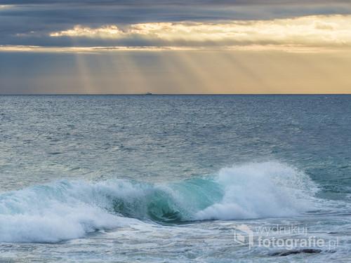 Zachód slońca na wyspie Cejlon