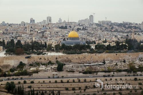 Jerozolima widziana z Góry Oliwnej