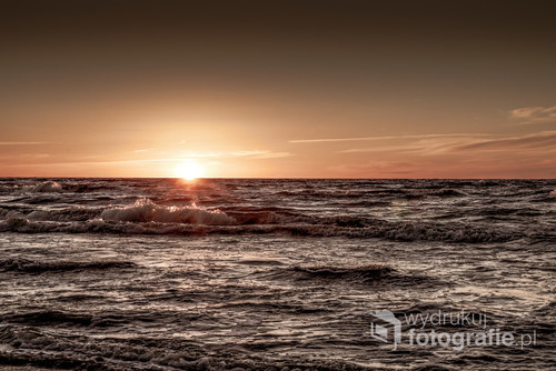 Morze Bałtyckie w okolicach Kołobrzegu
