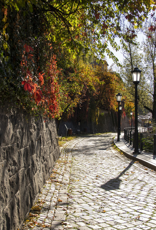 Zdjęcie jednej z najsłynniejszych cieszyńskich uliczek tzw.