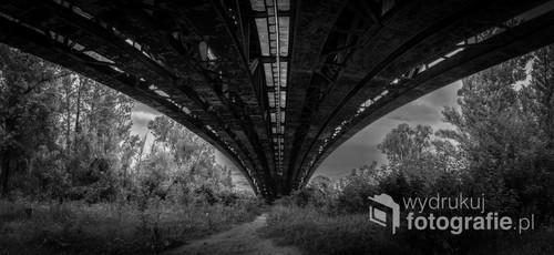 Panorama wykonana pod mostem podczas spaceru ;)