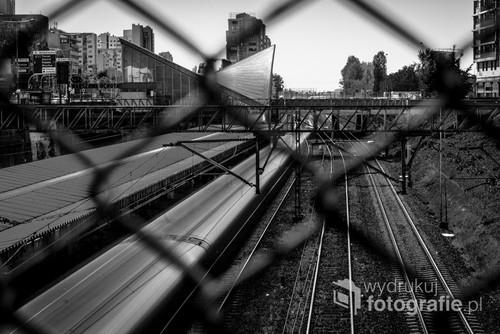Stacja Warszawa Ochota widziana z trochę innej perspektywy