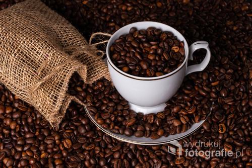 Zdjęcie studyjne z motywem kawy