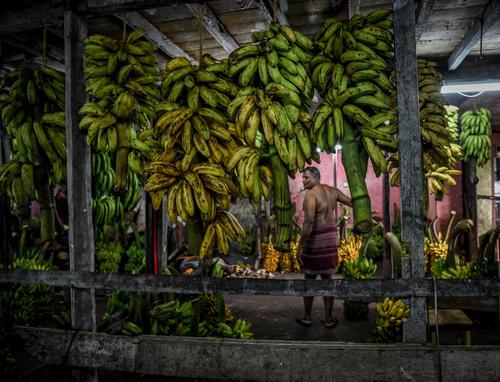 Zdjęcie wykonane na targu owoców w Colombo na Sri Lance.