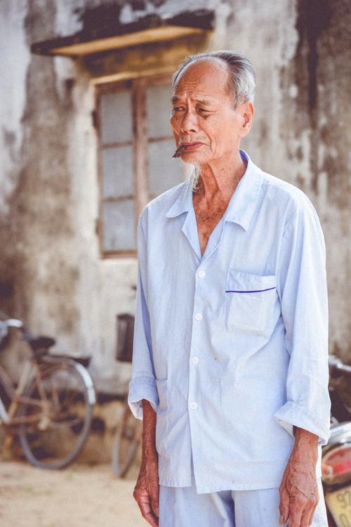 Wietnamski mężczyzna. Hoi An, Wietnam.
