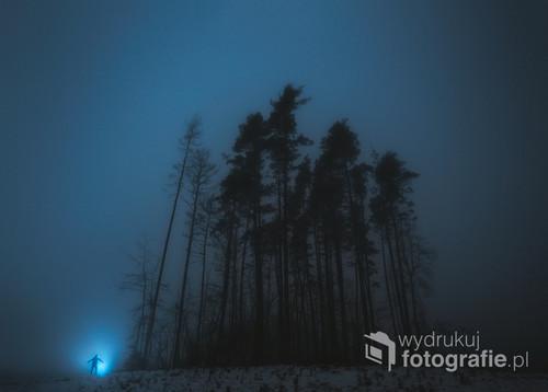 Nocny pejzaż