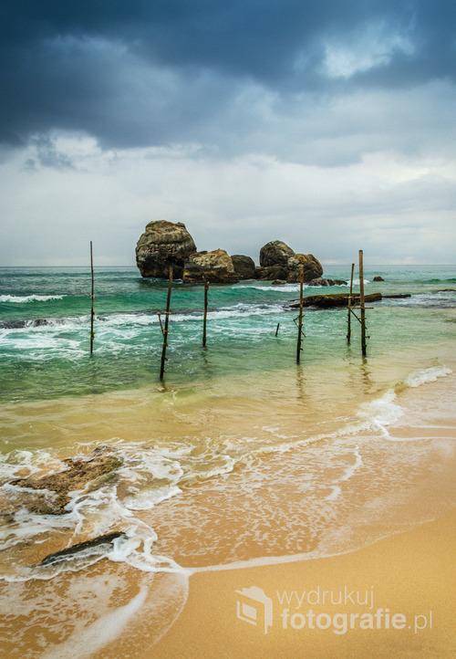 Plaża Koggala, Sri Lanka 2015