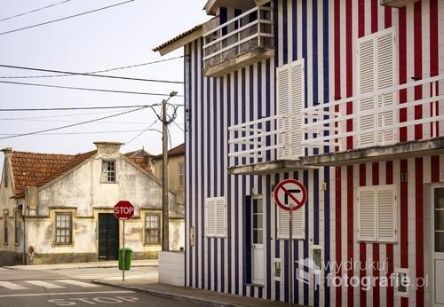 Miasteczko Costa Nova, Portugalia 2017