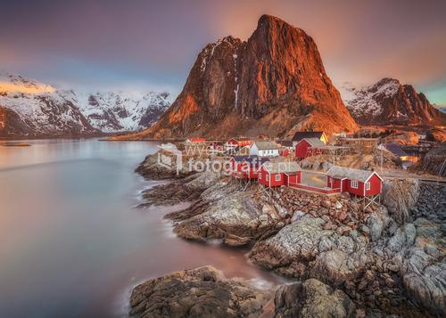 Hamnoy , Nordland , Lofoty Norwegia 2015