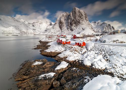 Beautiful Hamnøy Lofoty - Norwegia
