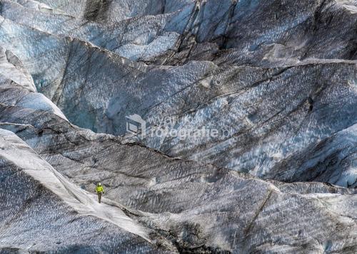 Wspinaczka lodowa na jęzorze lodowca Vatnajokull, Islandia