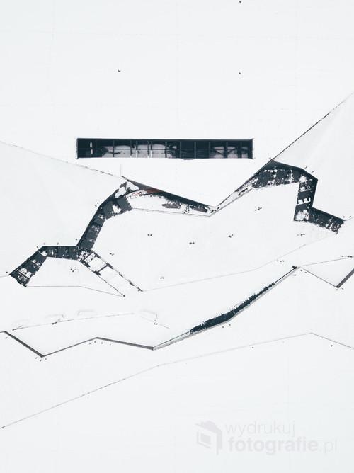 Katowice Międzynarodowe Centrum Kongresowe /Śnieg! Wszędzie!  Kolekcja: Zima 2018