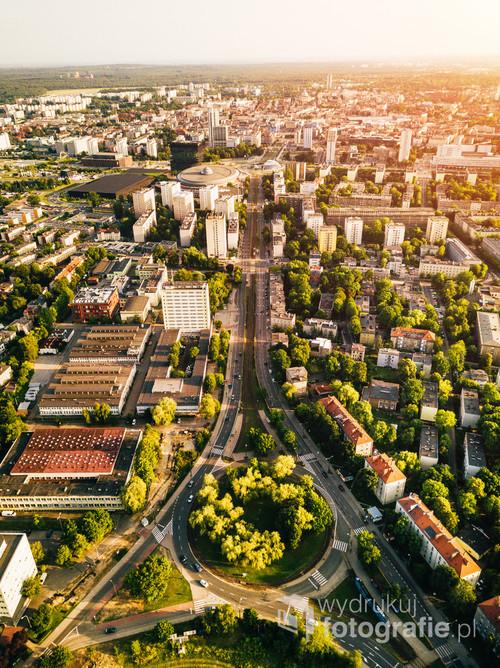 Katowice Panorama /Kocham to co widzę przed sobą.  Kolekcja: Lato 2019