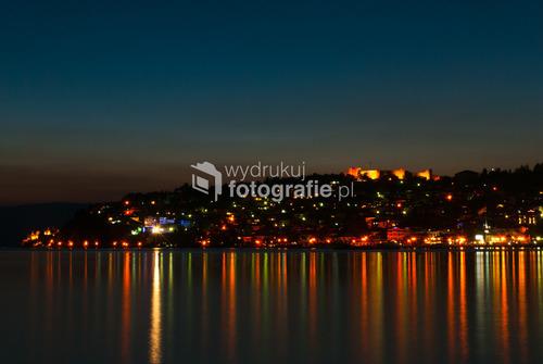 Ohrid, 2012 widok na starówkę Ohridu