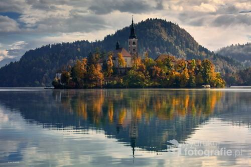 Słowenia jezioro Bled