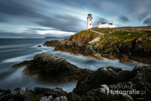 Irlandia i znana latarnia Fanad Head