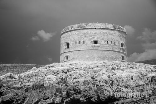 Zdjęcie w podczerwieni, filtr 830nm. Czarnogóra 2017