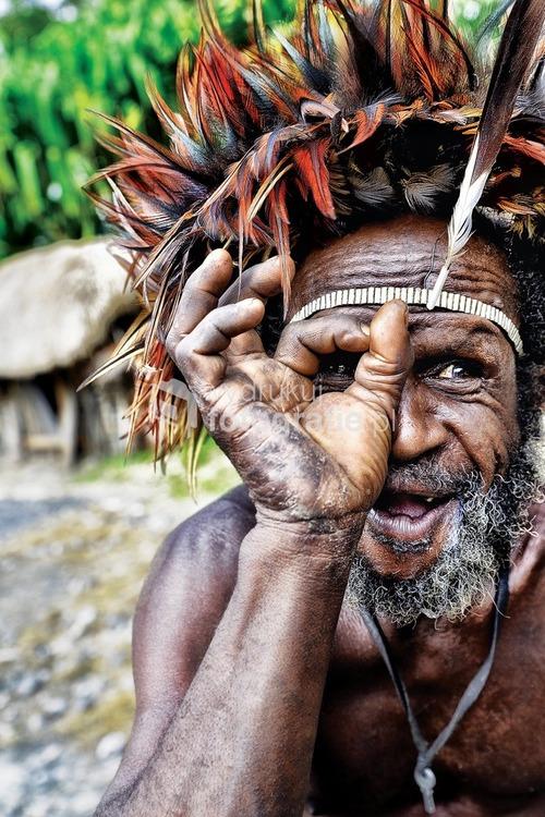 Papua, dolina Baliem, 2015 (Photo of the year 2016 - Survival International)