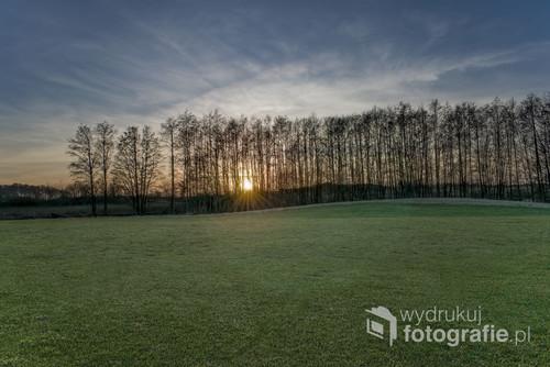 Szwecja, okolice pola golfowego Varberg