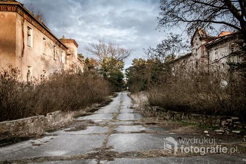 03.02.2016 Pstrąże Opuszczone miasto Pstrąże. Kompleks dla rodzin żołnierzy radzieckich koszarów wojskowych. Miasto było nazywane Polską Prypecią.