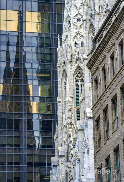 Elementy architektury Manhattanu.