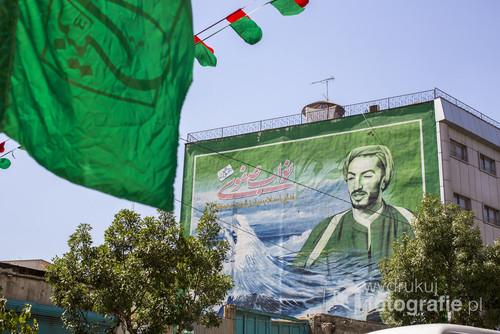 W Iranie silny jest kult męczenników, którzy de facto są narodowymi bohaterami.