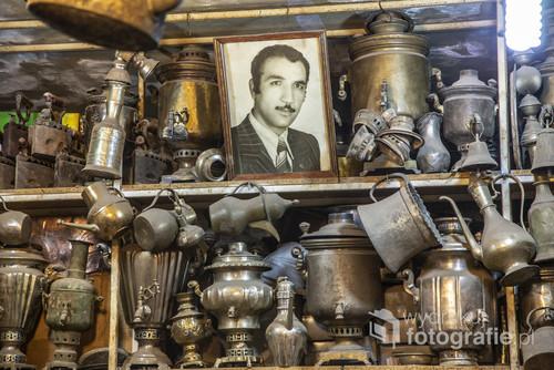 Stoisko na jednym z tradycyjnych irańskich bazarów.