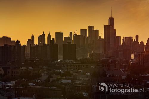 Manhattan widziany z perspektywy Brooklynu
