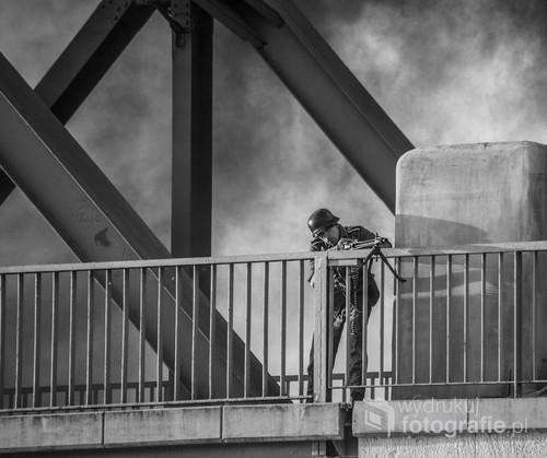Rekonstrukcja bitwy pod Arnhem. Gryfino 2015.