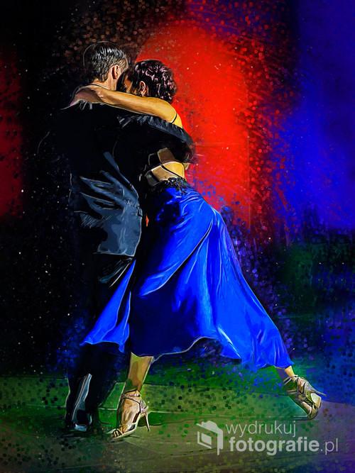 Facundo Piñero i Vanesa Villalba podczas Recuerdo Tango Festival 2016 w Warszawie.