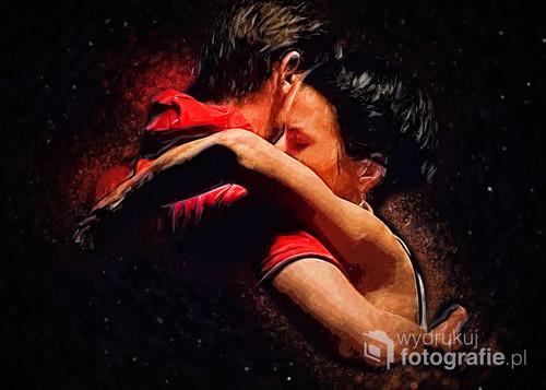 Zdjęcie wykonene podczas jednej z warszawskich imprez tangowych.
