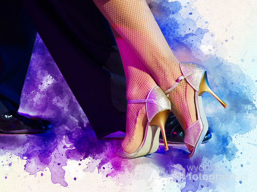 Detal: Stopy w tańcu.