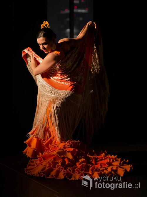 Polska tancerka i nauczycielka flamenco Marta Dębska (Marta Robles) podczas występu w ramach cyklu