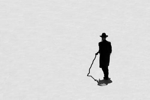 Fotografia o przewrotnym tytule wykonana w Jerozolimie. Publikowana w National Geographic. Zdjęcie nagradzane w konkursach fotograficznych.
